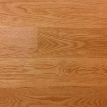Canadian Red Oak Gloss Solid Hardwood Flooring